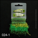 SET OF HAIR GUMS + HAIR CLIPS 024-1 GREAT PRICE!