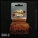 SET OF HAIR GUMS + HAIR CLIPS 024-2 GREAT PRICE!